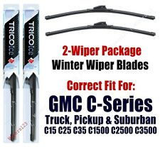 WINTER Wipers 2-Pack Premium 1973-1978 GMC C35 C3500 Pickup - 35160x2