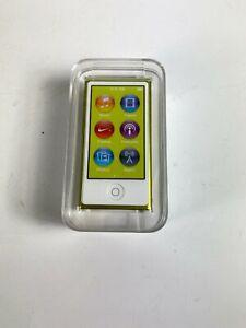 Apple iPod Nano 7th Generation 16 GB Yellow A1446 Model Factory SEALED