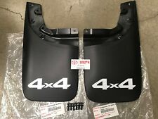 Toyota 2005-2015 Tacoma 4x4 OEM Left Rear & Right Rear Mud Guard Flap w/ Clips