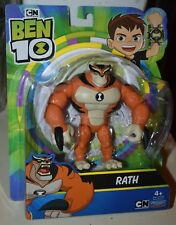 Ben 10 RATH Action Figure With Alien Arms PLAYMATES TOYS NEW