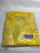 Susan Graver Bateau Neck 3/4 Sleeve Mini Ruffle Tunic 2X Yellow A230803