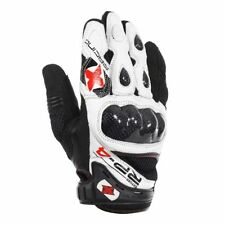 Oxford Knuckles Leather Vented Motorcycle Gloves