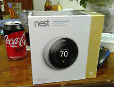 Nest 3rd Generation Stainless Steel Thermostat - Still in Shrink Wrap