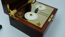 Mont Blanc Rieussec Watch non functioning Display Wood and Brass, really nice.
