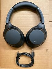 Sony WH-1000XM3 Noise Canceling Headphones Over-Ear WH1000XM3 (Black)