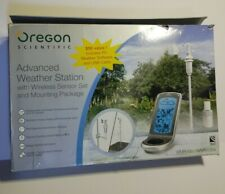 Oregon WMR100/A Advanced Weather Station with Wireless Sensor.Missing Screws