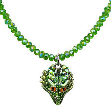 KIRKS FOLLY PETITE THOR DRAGON BEADED NECKLACE   new 2017 release! st