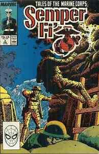 SEMPER FI #3 - TALES OF THE MARINE CORPS - Marvel Feb 1989 - WORLD WAR I, 1777