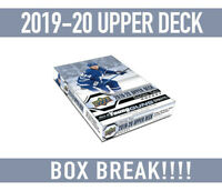 BOX BREAK!19-20 Upper Deck Hockey SERIES 2 BOX BREAK Random Teams-Free Shipping!
