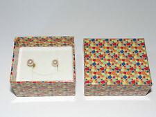 Perles, boucles d'oreille, Or, 585/14k, Earrings küpe, Inci, femmes, pearls
