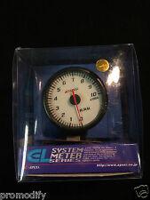 60mm Rpm Tachometer contador Rev. Calibre Apexi Estilo como defi posterior Led Hks Greddy