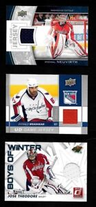 WASHINGTON CAPITALS AUTOGRAPH JERSEY NHL HOCKEY CARD SEE LIST