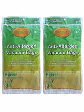 Hoover 3 Type Y Vacuum Cleaner Bags Allergen Filtration 4010100y 43655109