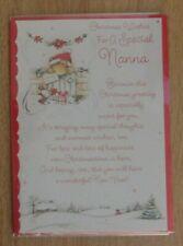 Christmas Wishes For a Special Nanna Christmas Teddy Christmas Card