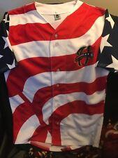 Harrisburg Senators star'n'stripes jersey #10 large