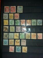 Bosnien und Herzegowina Lot an gestempelten Briefmarken . 2 Album Seiten .