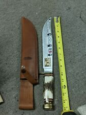 Marbles Gladstone USA Trailmaker Bowie 10-in Blade Stag Comes With Sheath