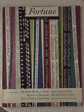 1955 Original March Fortune Complete Magazine Walter Allner Art Campbell Soup