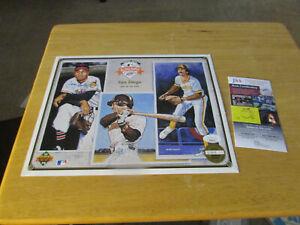 1992 Autographed Upper Deck All-Star FanFest Commemorative Print JSA COA