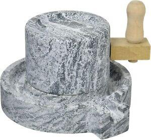 Ishigaki Small Stone mill Stone mortar Millstone 3.6kg / New /