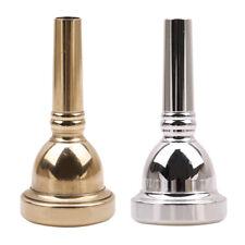 Nickel-Plated Copper Alto Trombone Mouthpiece Mouth Piece 6 1/2AL Small Shank