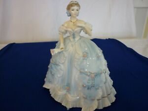 Royal Worcester Figurines Limited Edition the First Quadrille, Signed N Staem