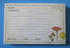 Mushrooms pack 50 RECIPE CARDS Legacy housewarming bridal shower gift