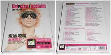 LADY GAGA UNIVERSAL ACCLAIM 2 DVD (STAMPA CINESE) SIGILLATO  SEALED