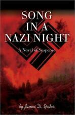 Song in a Nazi Night: A Novel of Suspense-ExLibrary