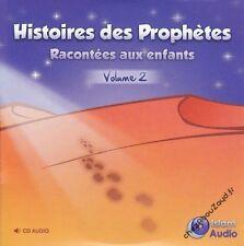 CD Histoires Des Prophètes Racontées Aux Enfants Volume 2 audio islam - NEUF