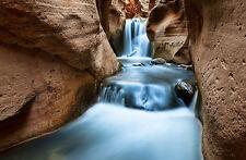 Lámina-Canyon River Rapids en las montañas (foto Afiche Arte Escénico)