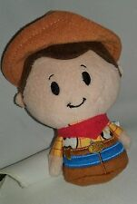 Hallmark Plush Itty Bitty Bittys Disney Woody Toy Story Cowboy, 5 inch