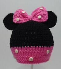 Cute Toddler Kids Girl&Boy Baby Infant Crochet Knit beanie cap Minnie Mouse