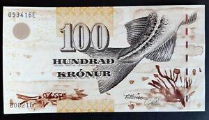 Faeroe Islands 100 kronur 2002 FDS/UNC  C-06