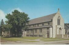 Vintage POSTCARD c1961 Zion Lutheran Church THIEF RIVER FALLS, MN 19341