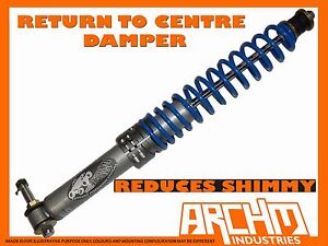 TOUGH ARCHM4x4 RETURN TO CENTRE STEERING DAMPER FOR NISSAN PATROL G60 1961-1980