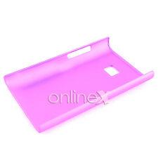 Funda Carcasa para LG OPTIMUS L3 E400 Rígida Color  ROSA a589