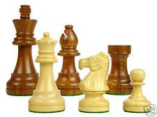 Wooden Chess Set Pieces Staunton Popular 3.25 Inch Golden Rose Wood Extra Queens