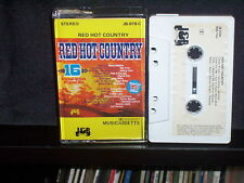 VARIOUS - RED HOT COUNTRY - RARE AUSTRALIAN CASSETTE