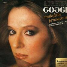"7 "" PS RECORD 45 single : LORETTA GOGGI - MALEDETTA PRIMAVERA - BELGIUM"