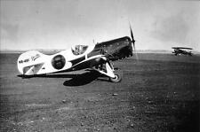2: GRANVILLE #8 (NR49V) AIR RACING AIRPLANE 5 X 7 B&W AIR RACES PHOTOGRAPH