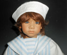 "Vintage Annette Himstadt 24"" Vinyl Character Doll Cute Sailor Outfit Enzo"