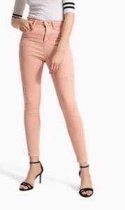 Stradivarius Pink Skinny Jeans Size Eur 38