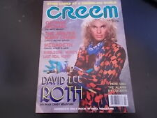 George Michael, David Lee Roth, Megadeth - Creem Magazine 1988