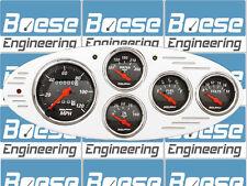 32  Ford Car Billet Aluminum Gauge Panel Dash Insert Instrument Cluster 1932