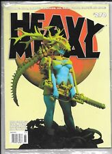 Heavy Metal Magazine #270 July 2014 Blanche Cover Factory Sealed 9.0 1977 Series