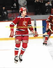 VALERI KHARLAMOV In ACTION 8x10 Photo GREATEST RUSSIAN PLAYER~HOF GREAT WoW