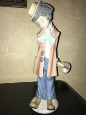 Lladro # 5057 Clown With Violin  Mint No Box