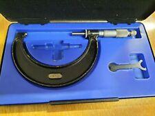 Moore & Wright N°966M Metric Micrometer 75-100mm in Box