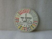 RARE PFAFF-AUTOMATIC MECHANICALCALCULATOR CIRCULAR SLIDE RULE